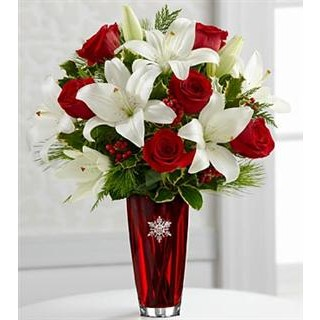 3 Holiday Celebrations® Bouquet - VASE INCLUDED