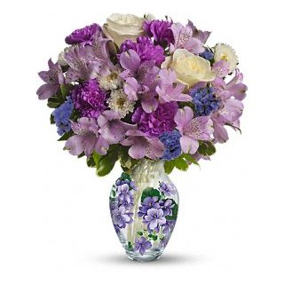 0000 Sweet Violet Bouquet