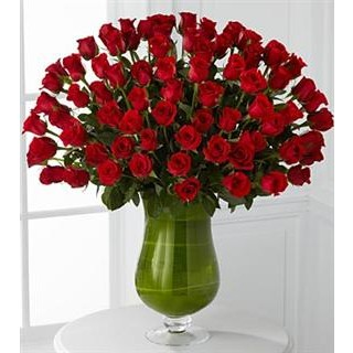 Attraction Luxury Rose Bouquet - 72 Stems of 24-inch Premium Long-Stemmed Roses